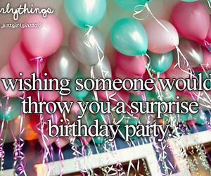 party, wish, and birthday image