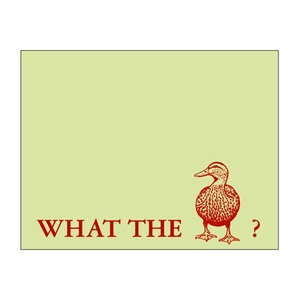 card, duck, and graphic design image
