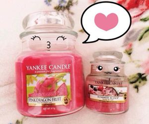 candles, heart, and love image