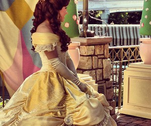 beauty and the beast, bell, and disney image