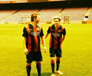 one direction, niall horan, and football image