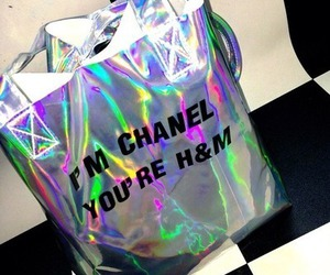 chanel, grunge, and bag image