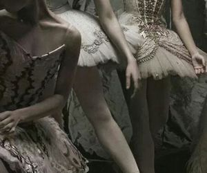 ballerina, ballet, and dancers image