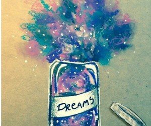 Dream and draw image