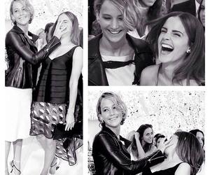 emma watson and Jennifer Lawrence image