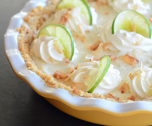 key lime pie and yummmy! image