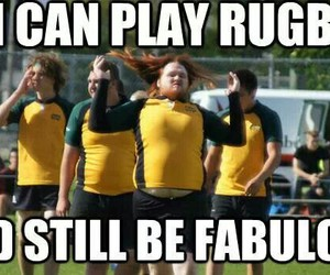 fabulous and rugby image