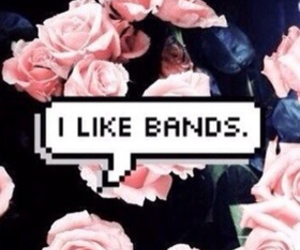 bands, roses, and 5sos image
