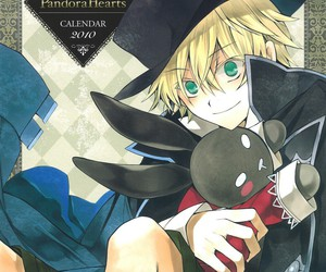 pandora hearts, rabbit, and oz vessalius image