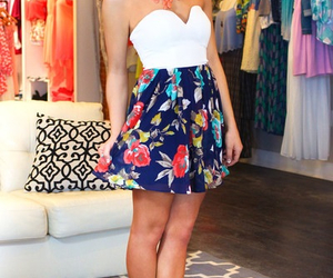 dress, fashion, and skirt image