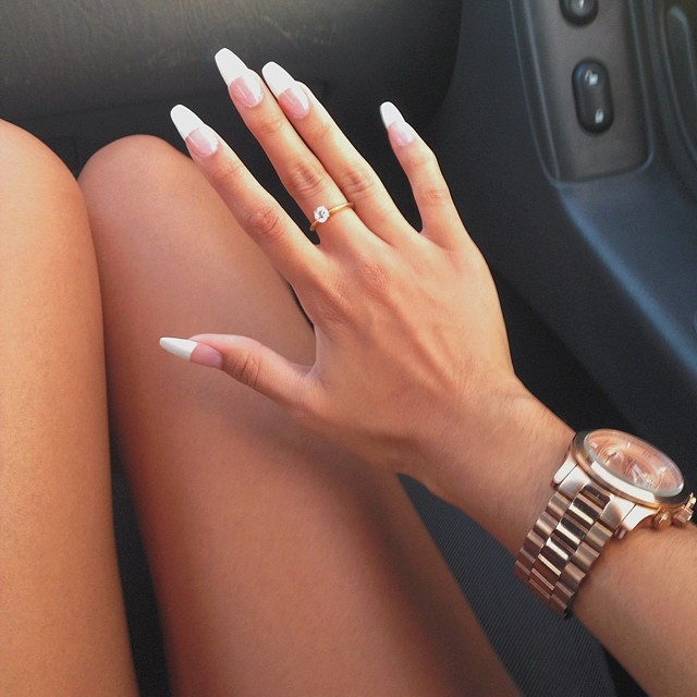 75 images about french acrylic nails on We Heart It | See more about ...