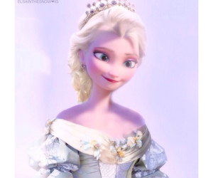 disney, Queen, and arendelle image