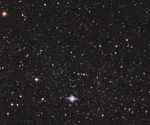 stars, header, and black image