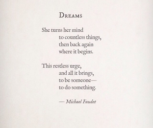 Dream, quotes, and poem image
