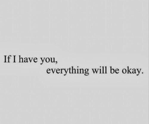 love, quote, and okay image