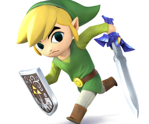 wind waker, triforce, and zelda image