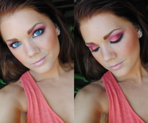 blue eyes, eyes, and eyeshadow image