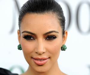 celebrity, famous, and kim kardashian image