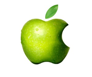 apple and green image
