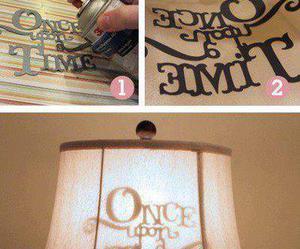 diy, lamp, and tutorial image