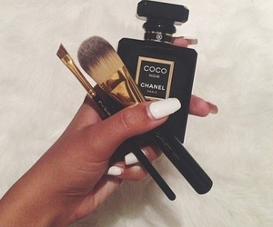 chanel, makeup, and nails image