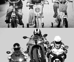 bikers and motorcycle image