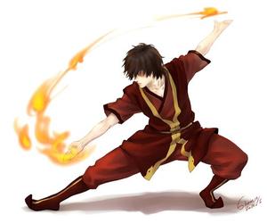 zuko, avatar, and fire image