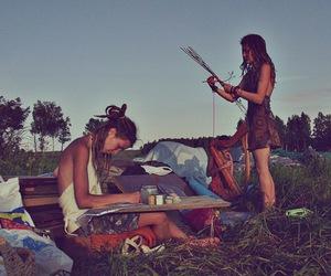 dreads, dreadlocks, and hippie image