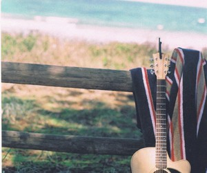 guitar, music, and relax image