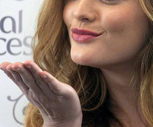 beautiful, kiss, and leighton meester image