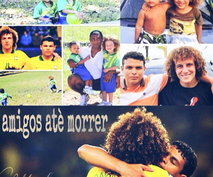 thiago silva and david luiz image