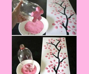 pink, flowers, and tutorials image