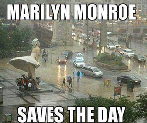 Marilyn Monroe, funny, and lol image