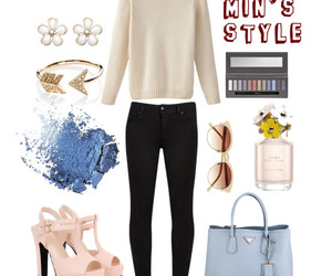 fashion, look book, and Polyvore image