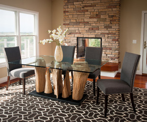 dining room, fabulous design, and dining tables image