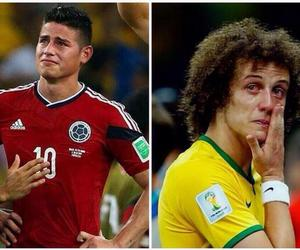 david luiz, colombia, and brazil image