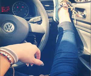 bracelet, car, and shoes image