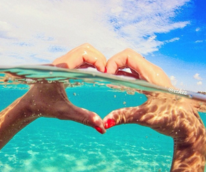 hands, heart, and summer image