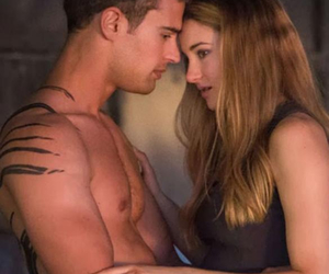 theo james, divergente, and Shailene Woodley image