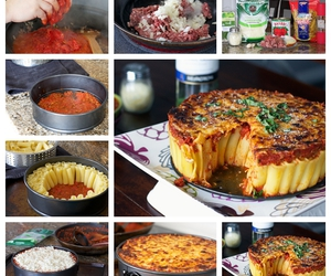 cooking, pie, and food image