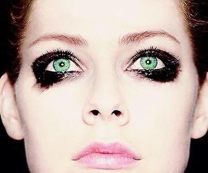 Avril Lavigne, fake eyes, and music image