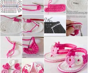 baby, diy, and shoes image