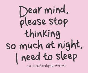 mind and sleep image