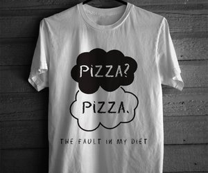 diet, pizza, and funny image