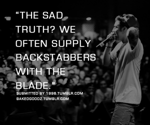 back, truth, and blade image