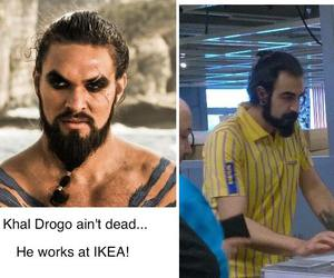 got, game of thrones, and khal drogo image