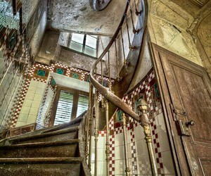 abandoned, old, and building image