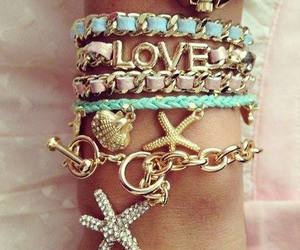 bracelet, accessories, and star image