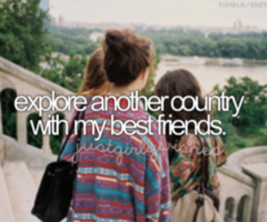 best friends, friends, and travel image