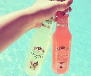 summer, drink, and mojito image
